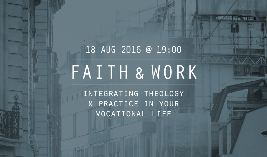 Faith and Work Seminar