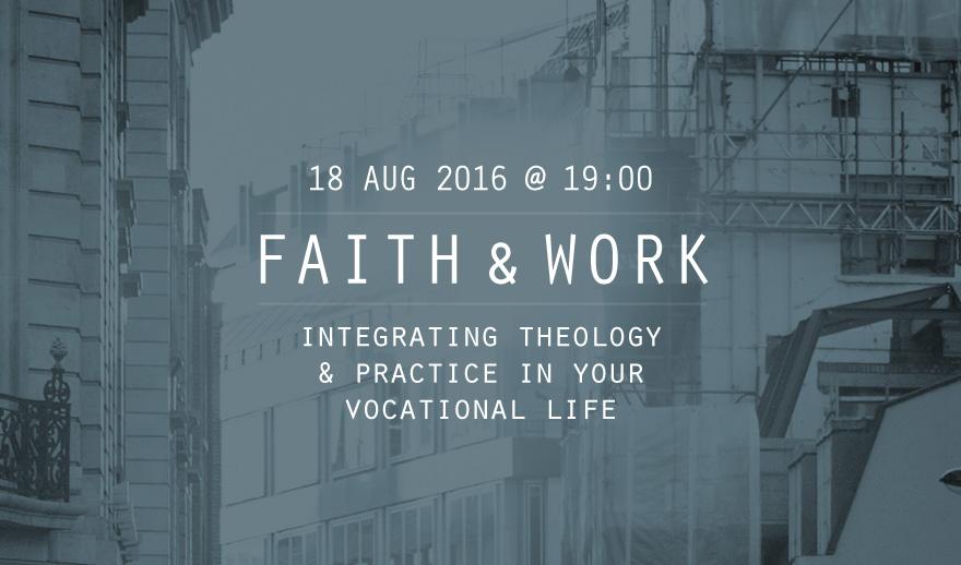 Faith and Work Seminar