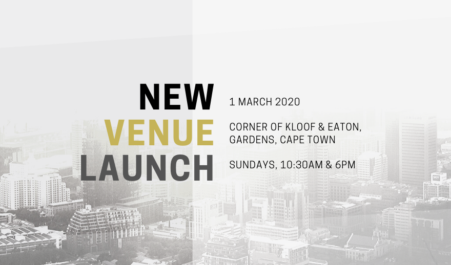 Hope City is moving to Kloof Street on the 1st of March 2020.