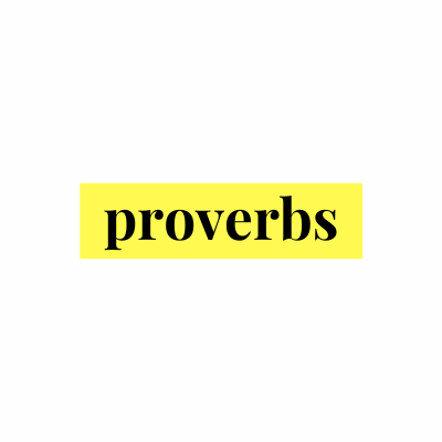 Sermons from Proverbs